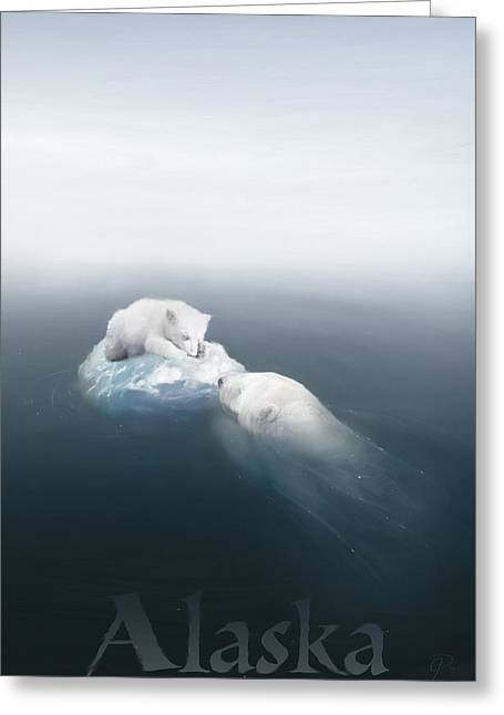Global Warming Greeting Cards - Drifted Greeting Card by Joel Payne