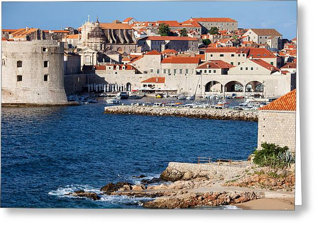 Dubrovnik Old City Architecture Greeting Card by Artur Bogacki