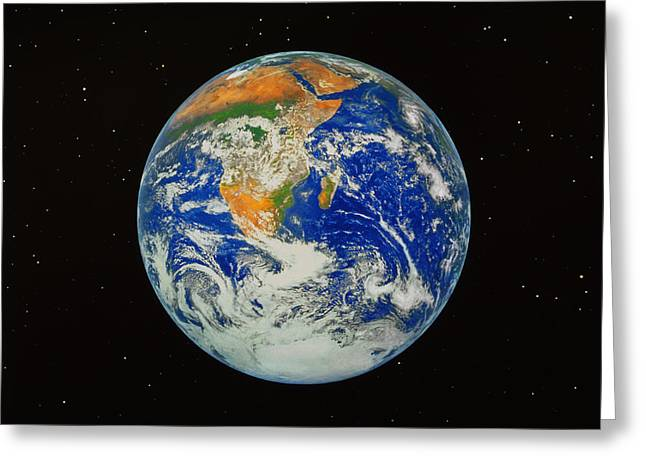 Planet Earth Greeting Cards - Earth Greeting Card by