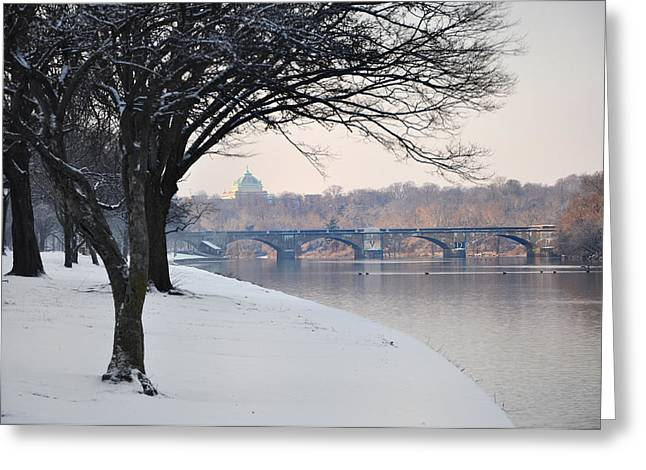 East River Drive Greeting Cards - East River Drive - Philadelphia Greeting Card by Bill Cannon