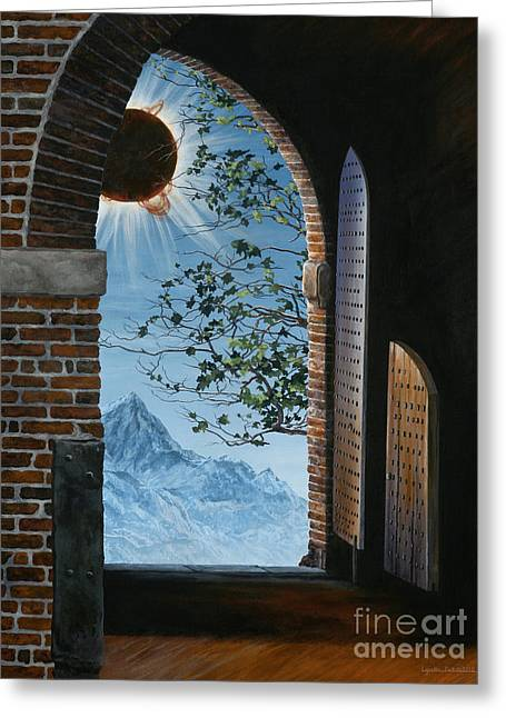 Lynette Cook Greeting Cards - Eclipse Greeting Card by Lynette Cook