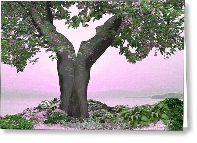 Fleurotica Art Greeting Cards - Eden Greeting Card by Torie Tiffany