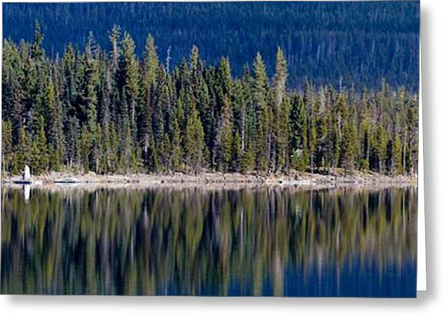 Mt Bachelor Greeting Cards - Elk Lake Oregon Greeting Card by Twenty Two North Photography