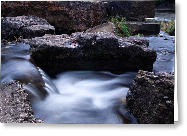 Waterfall Greeting Cards - Elora Gorge Greeting Card by Cale Best