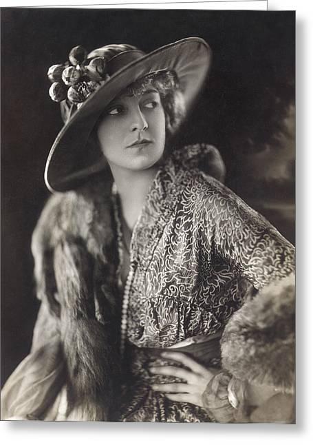 1915 Greeting Cards - Elsie Janis (1889-1956) Greeting Card by Granger