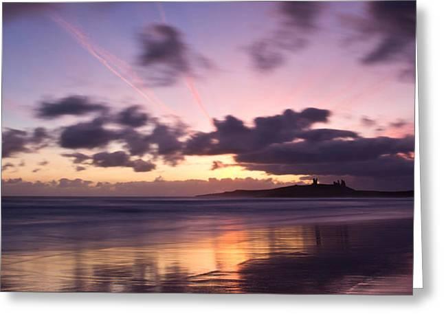 Embleton Greeting Cards - Embleton Bay Sunrise Greeting Card by David Pringle