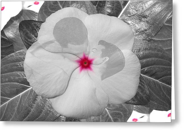 Floral Digital Art Digital Art Greeting Cards - Embrace Greeting Card by Torie Tiffany