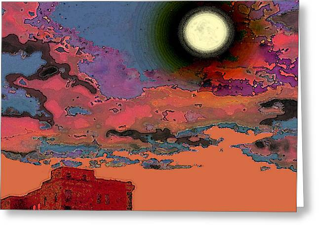End of the Day Greeting Card by Tam Ishmael - Eizman