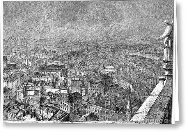 1876 Greeting Cards - England: Manchester, 1876 Greeting Card by Granger