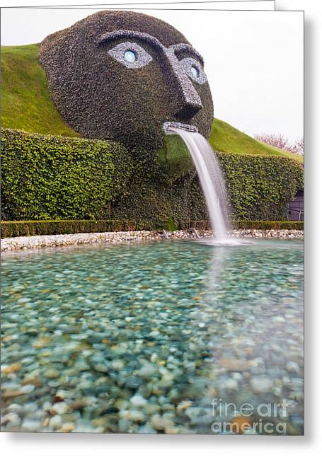 Swarovski Greeting Cards - Entrance of Swarovski Museum in Innsbruck Greeting Card by Andre Goncalves