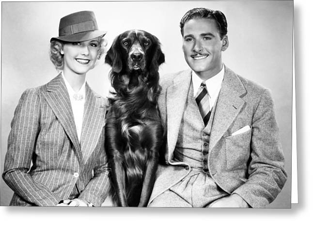 1937 Movies Greeting Cards - Errol Flynn (1909-1959) Greeting Card by Granger