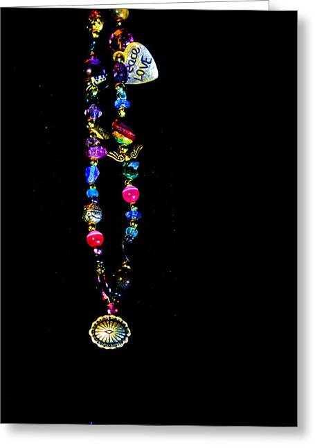 God Jewelry Greeting Cards - Faith Healing Bracelet Greeting Card by Joshua Dwyer