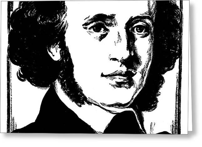 FELIX MENDELSSOHN Greeting Card by Granger