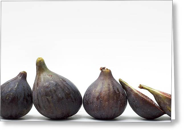 Composition Greeting Cards - Figs Greeting Card by Bernard Jaubert