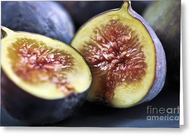 Moist Greeting Cards - Figs Greeting Card by Elena Elisseeva
