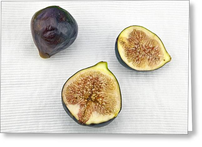 Fig Greeting Cards - Figs Greeting Card by Joana Kruse