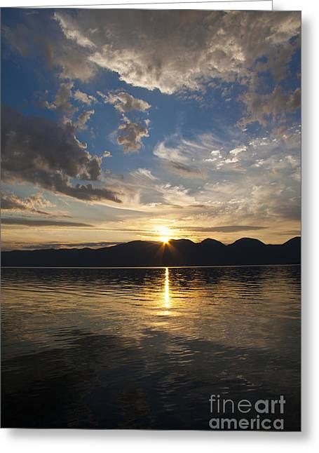 Scotts Scapes Greeting Cards - Flathead Touched Greeting Card by Scotts Scapes