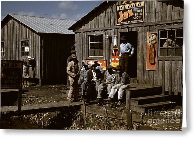 Juke Joint Greeting Cards - Florida: Workers, 1941 Greeting Card by Granger
