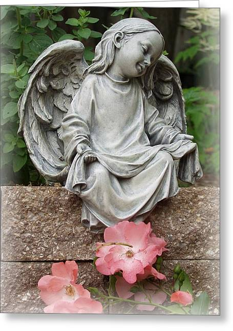 Recently Sold -  - Garden Statuary Greeting Cards - For Hope Greeting Card by Carol Sweetwood