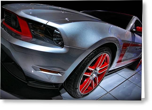 Naias Digital Greeting Cards - Ford Mustang - BOSS 302 Greeting Card by Gordon Dean II