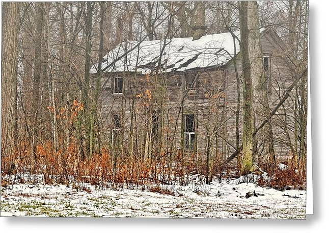 Abandoned Houses Greeting Cards - Forgotten Dreams Greeting Card by Pamela Baker