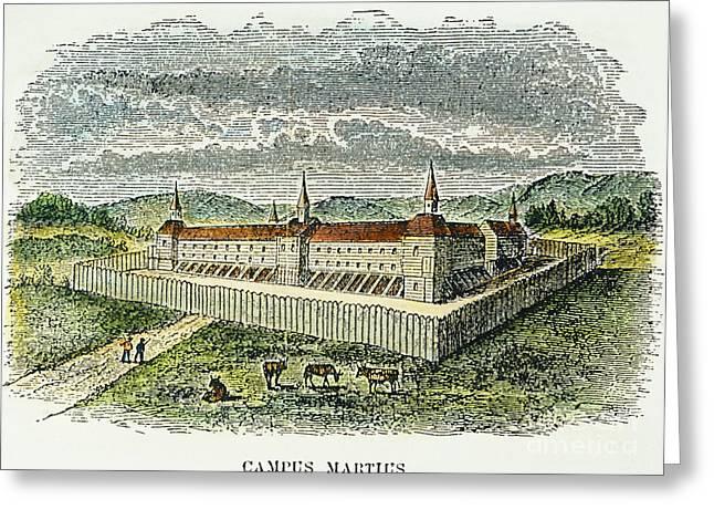 Fort Marietta, Ohio, C1790 Greeting Card by Granger