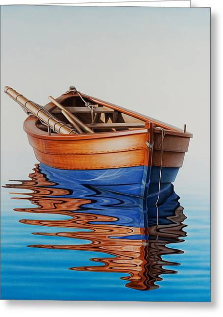 Ocean Sailing Greeting Cards - Four winds Greeting Card by Horacio Cardozo