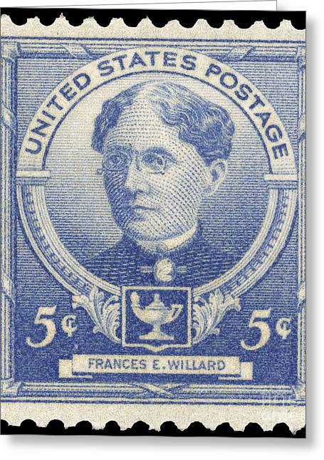 Reformer Greeting Cards - Frances Elizabeth Willard Greeting Card by Granger