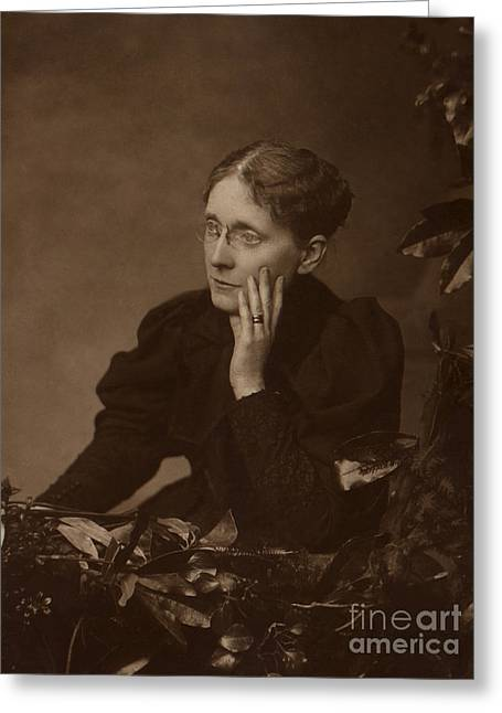 Womans Rights Movement Greeting Cards - Frances Willard, American Reformer Greeting Card by Photo Researchers