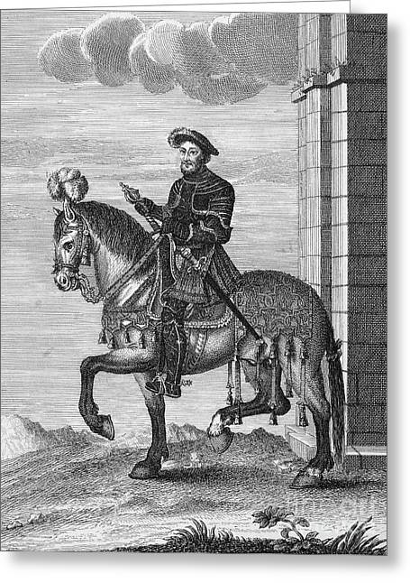 Francis I (1494-1547) Greeting Card by Granger