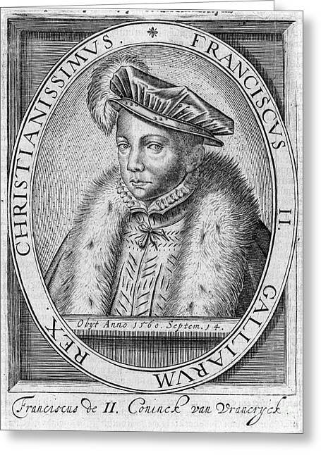 Francis II (1544-1560) Greeting Card by Granger