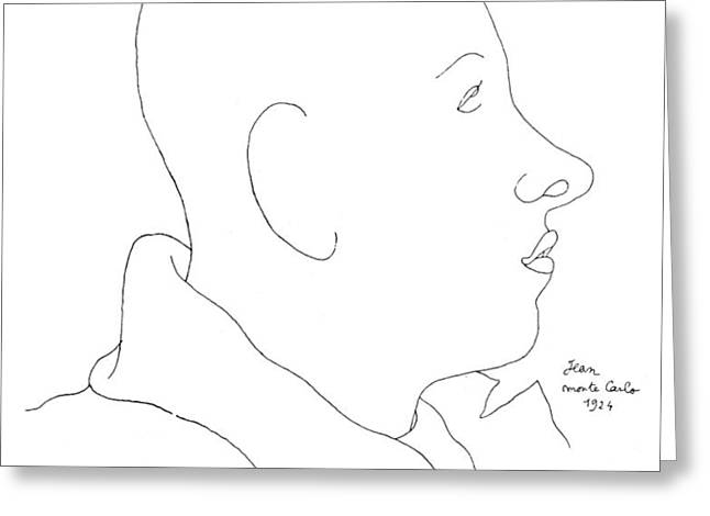 FRANCIS POULENC (1899-1963) Greeting Card by Granger