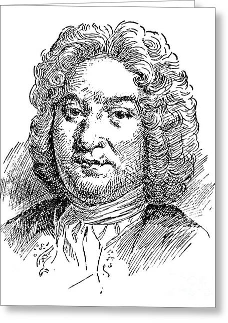 Francois Greeting Cards - Francois Couperin Greeting Card by Granger