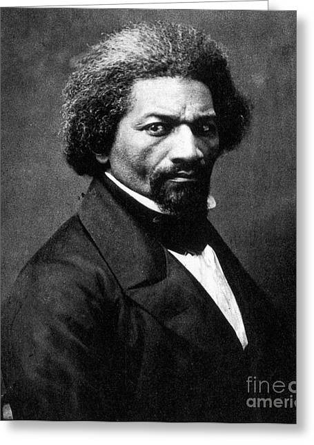 Frederick Douglass Greeting Cards - Frederick Douglass Greeting Card by Granger