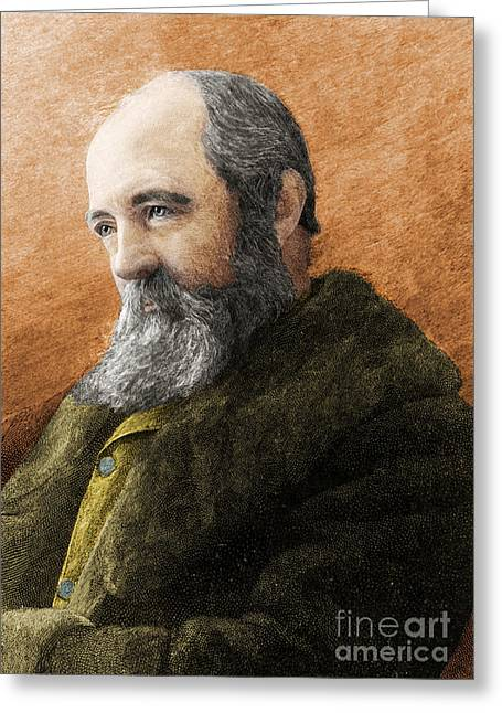 Prospects Figures Greeting Cards - Frederick Olmsted, American Landscape Greeting Card by Science Source