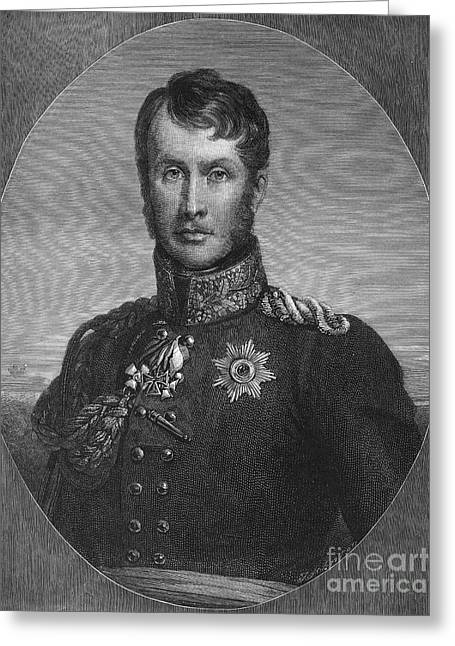 Frederick William IIi Greeting Card by Granger