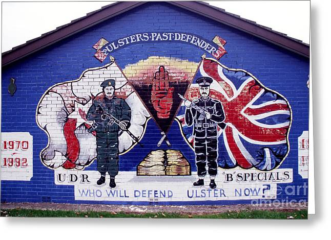 Loyalist Greeting Cards - Freedom Corner Mural Greeting Card by Thomas R Fletcher