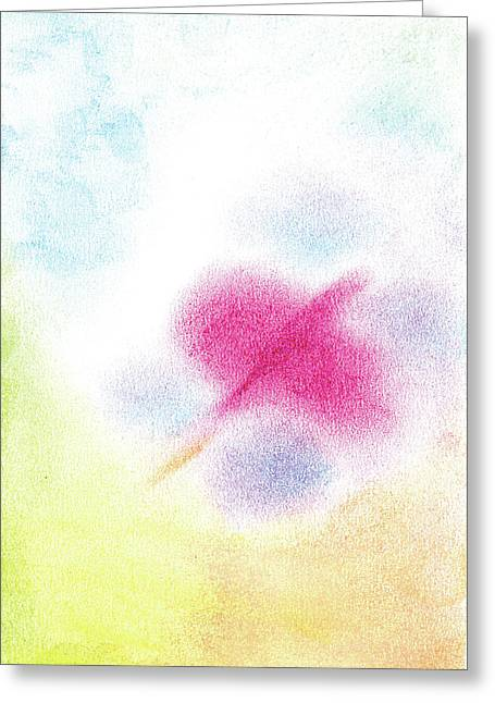 Butterflies Pastels Greeting Cards - Freedom Greeting Card by Erika Bayless