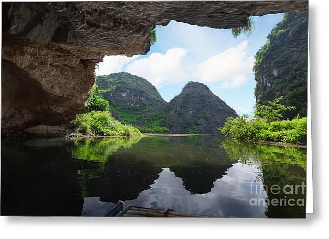 Binh Greeting Cards - From the grotto Greeting Card by MotHaiBaPhoto Prints