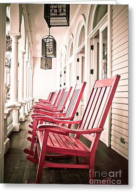 Front Porches Greeting Cards - Front Porch Greeting Card by Kelly Wade