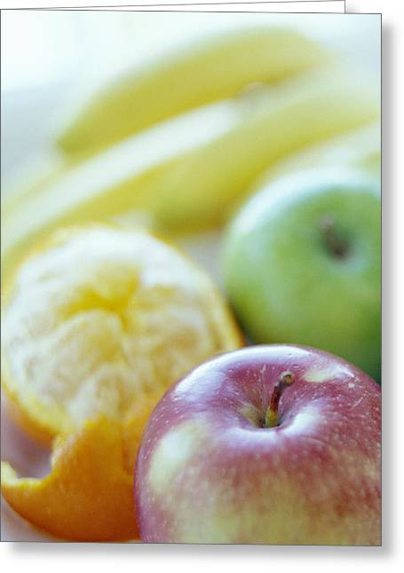 Fruits Greeting Card by David Munns