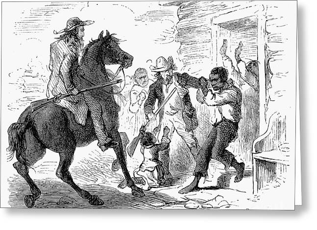 FUGITIVE SLAVE ACT, 1850 Greeting Card by Granger