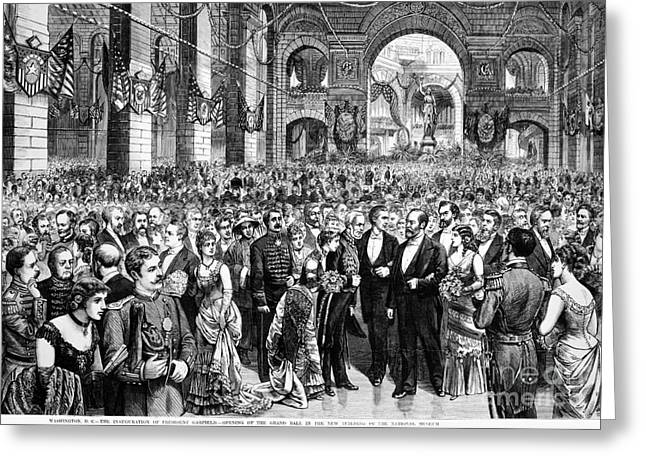 Inauguration Greeting Cards - Garfield Inauguration, 1881 Greeting Card by Granger