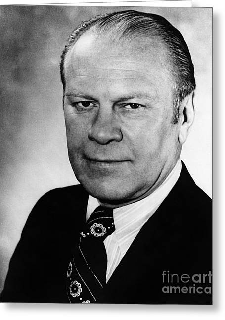 Gerald R. Ford (1913-2006) Greeting Card by Granger