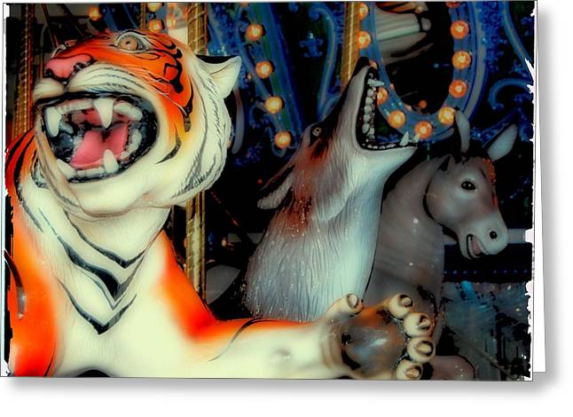 Tigers Tradition Greeting Cards - German Tigers Greeting Card by JAMART Photography