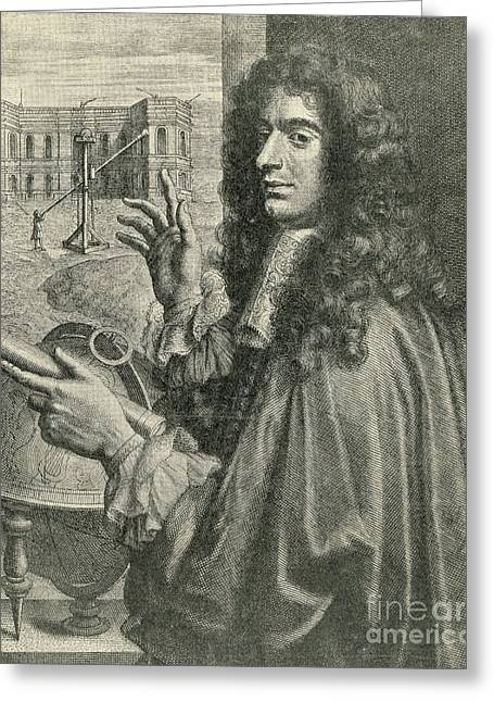 Division Greeting Cards - Giovanni Cassini, Italian-french Greeting Card by Science Source