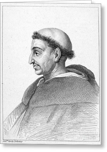 Girolamo Savonarola Greeting Card by Granger