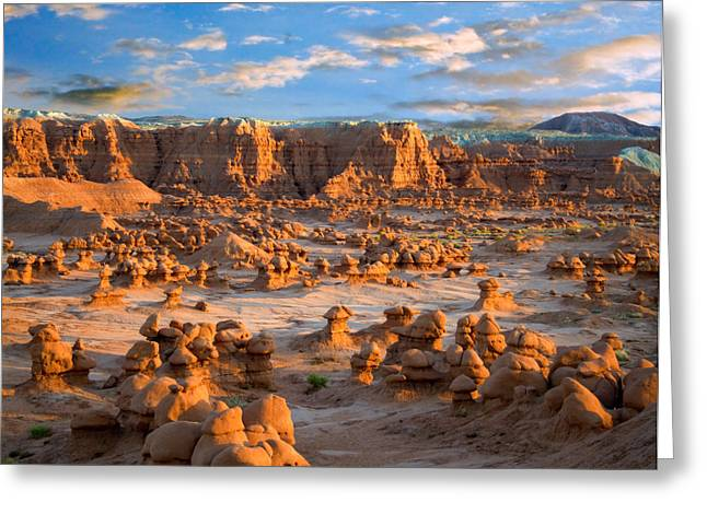 Goblins Greeting Cards - Goblin Valley State Park Utah Greeting Card by Utah Images