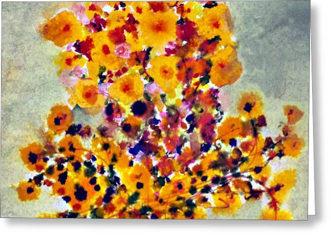 Visual Complement Greeting Cards - Goldenrod Greeting Card by Don  Wright