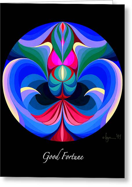 Survivor Art Greeting Cards - Good Fortune Greeting Card by Angela Treat Lyon